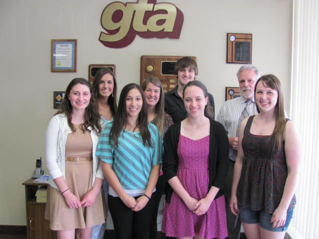 2013 GTA Scholarship Winners
